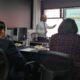 Esteban Montenegro Muñoz presenta su proyecto académico al jurado