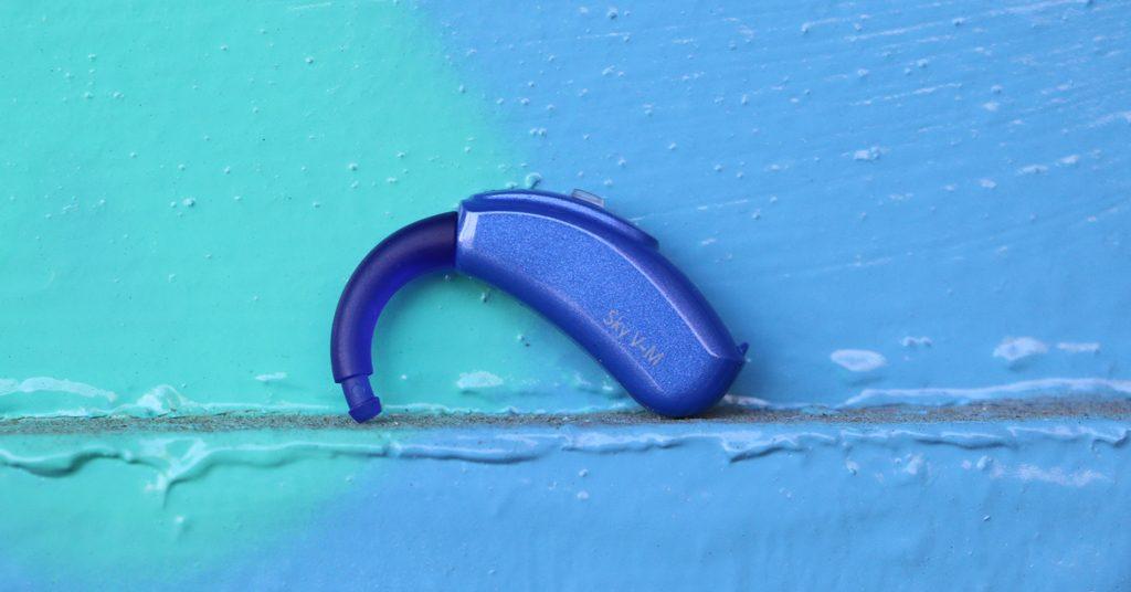 Audífono montado en la pared Blue Sky V-M