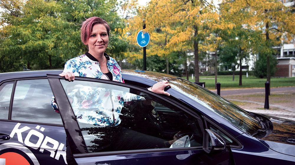Linda Nyquist balanserer hørselstap og jobb