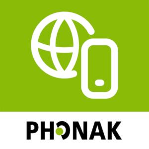 Ikonet til myPhonak-appen