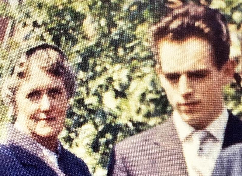 Ingvard og min mor som ung