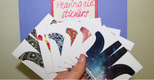 hearing aids stickers