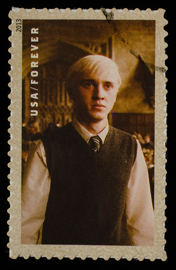 Tom Felton stamp.