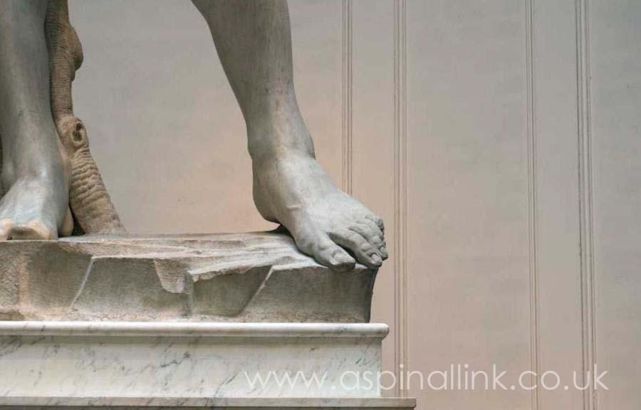 David feet