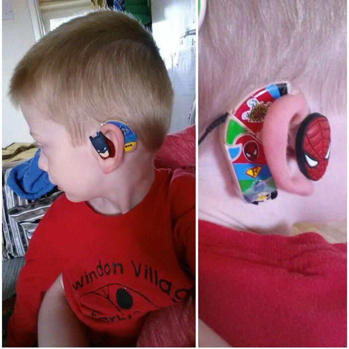 parents make cool hearing aids