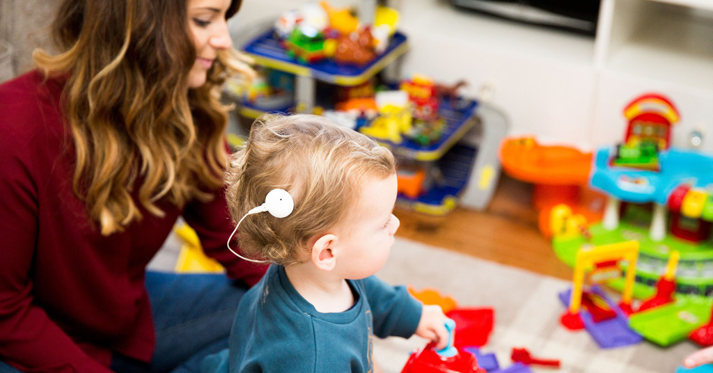 managing a toddler's cochlear implant