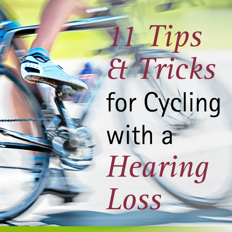 tips for cycling with a hearing loss