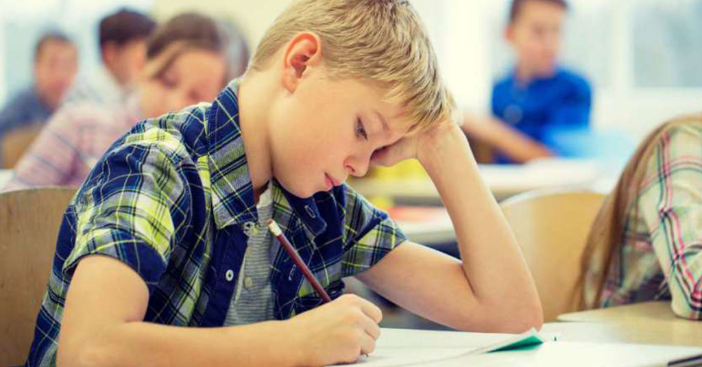 concentration fatigue in deaf, hard of hearing children