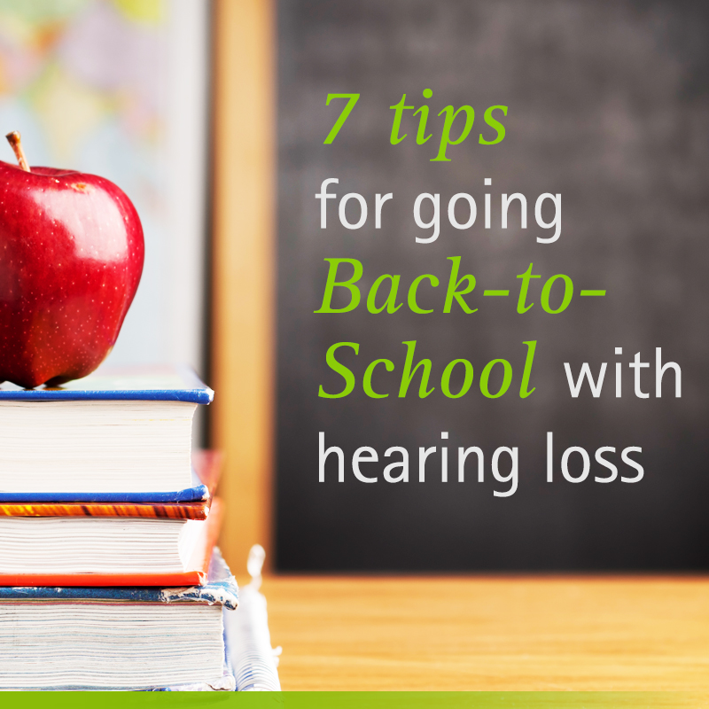 school with hearing loss