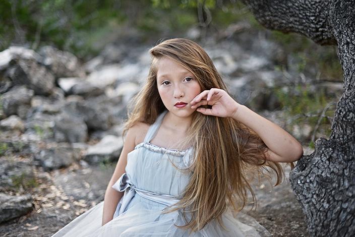 10-year-old deaf model Gabby Banda