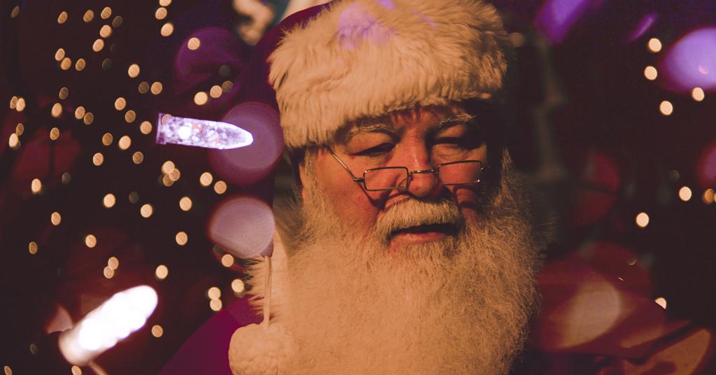 signing Santa