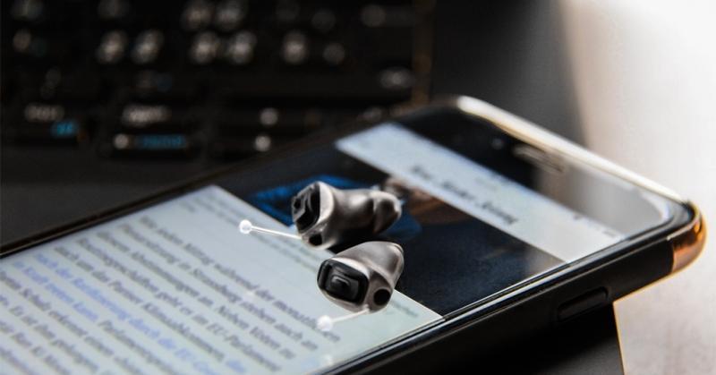 phonak titanium small hearing aids