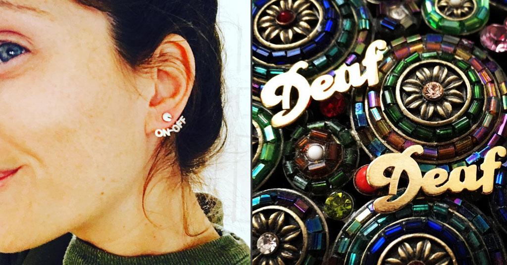 Louder Jewlery deaf jewelry line