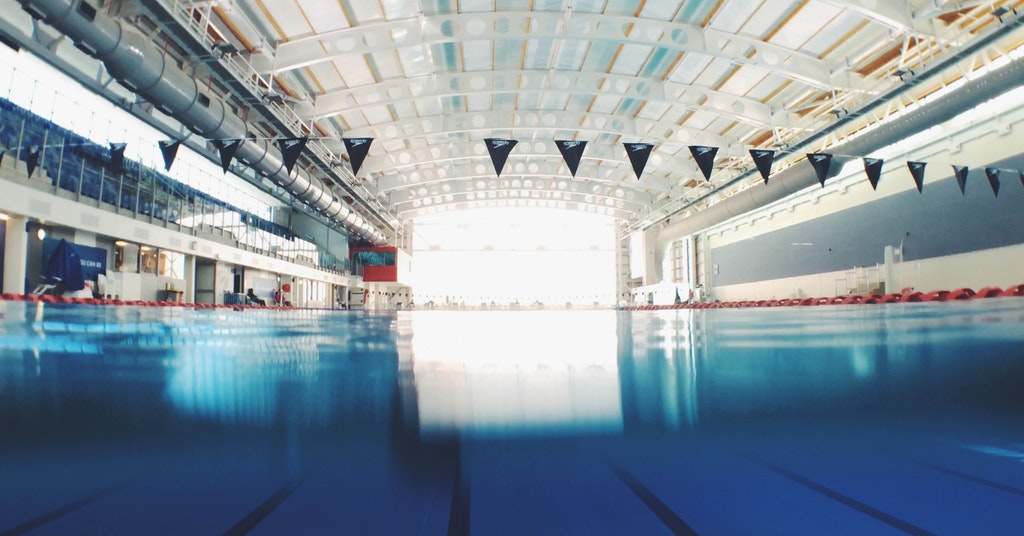 deaf and hard of hearing swimmers