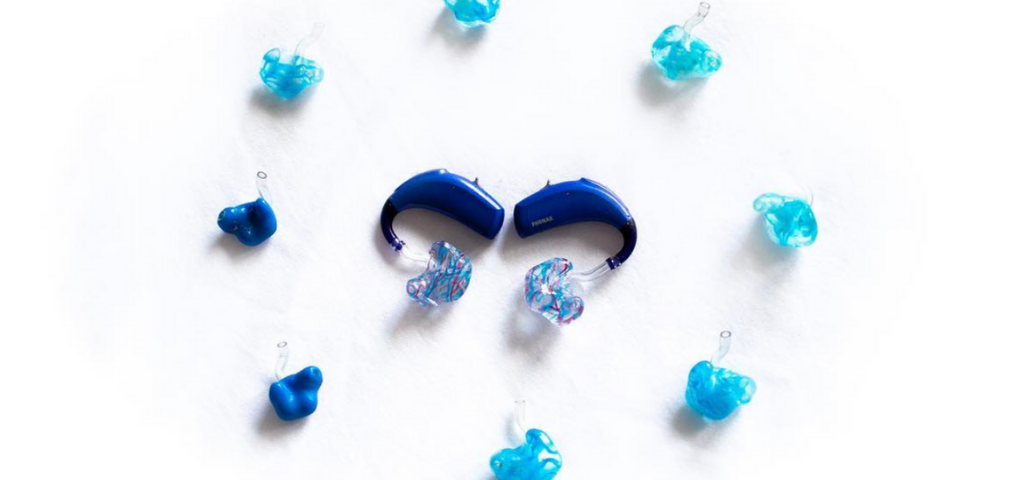 hearing aid molds as milestones