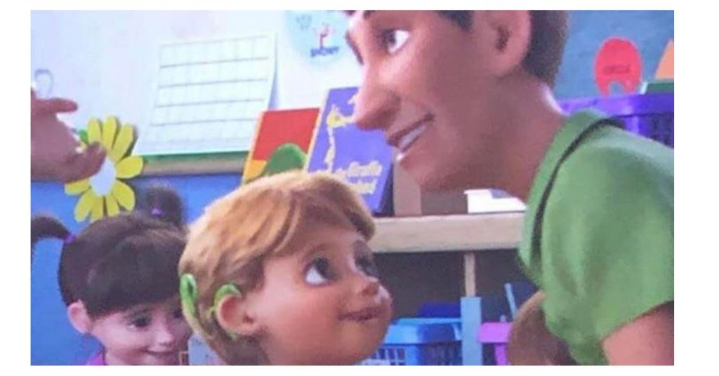 cochlear implant in Toy Story 4