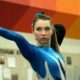 gymnast with hearing loss