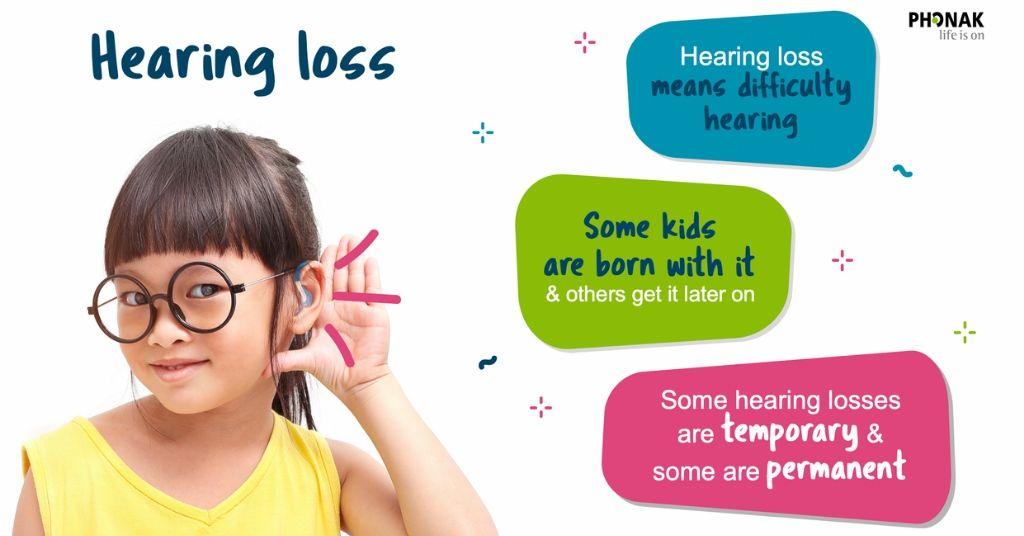 Explaining hearing loss at school
