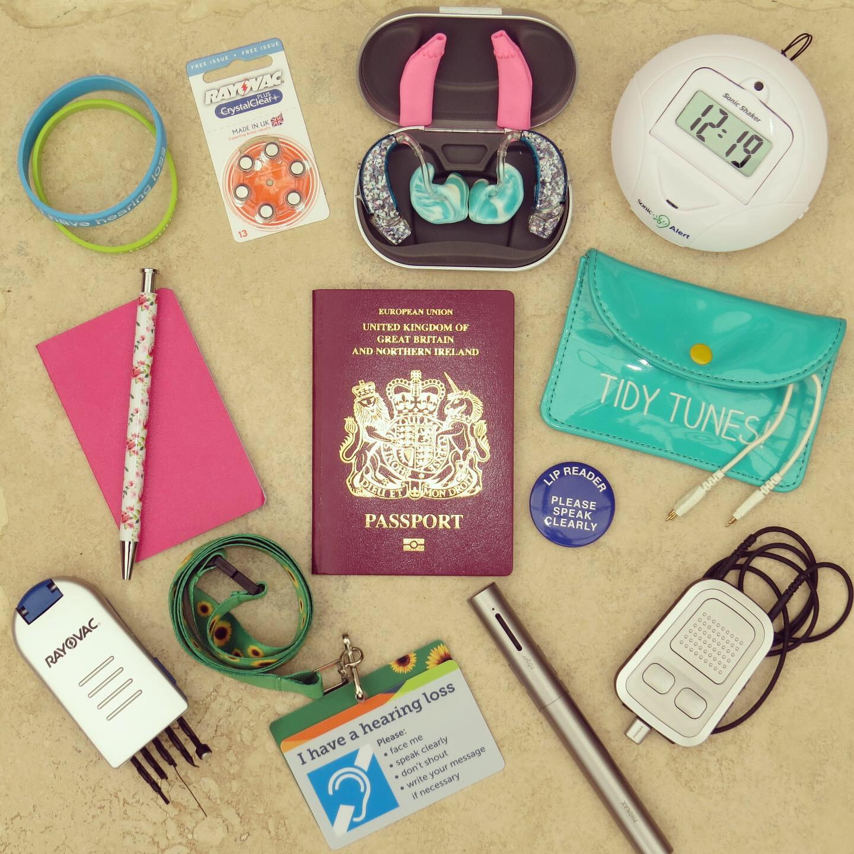 ultimate deaf travel kit