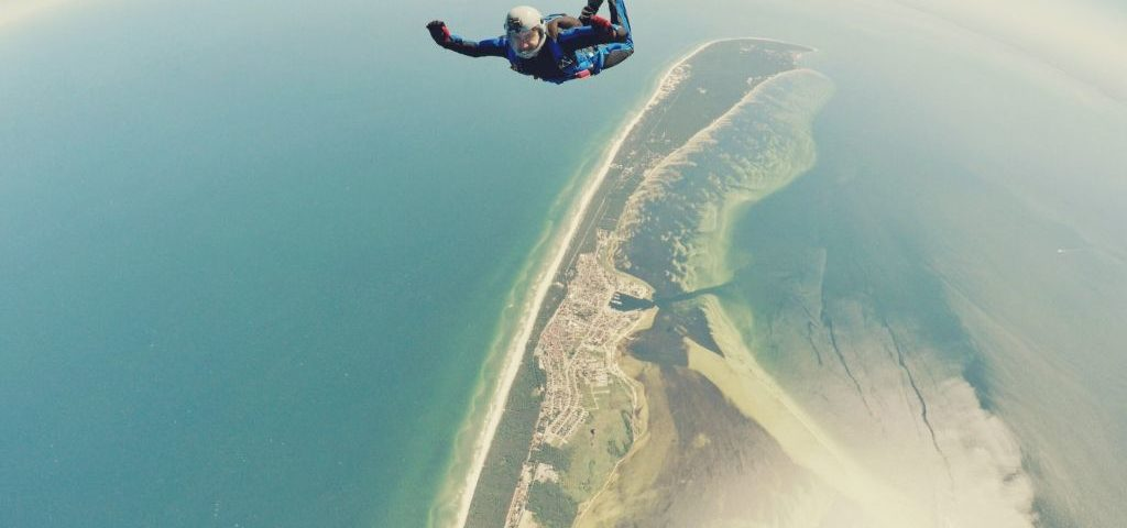 skydiving with hearing loss