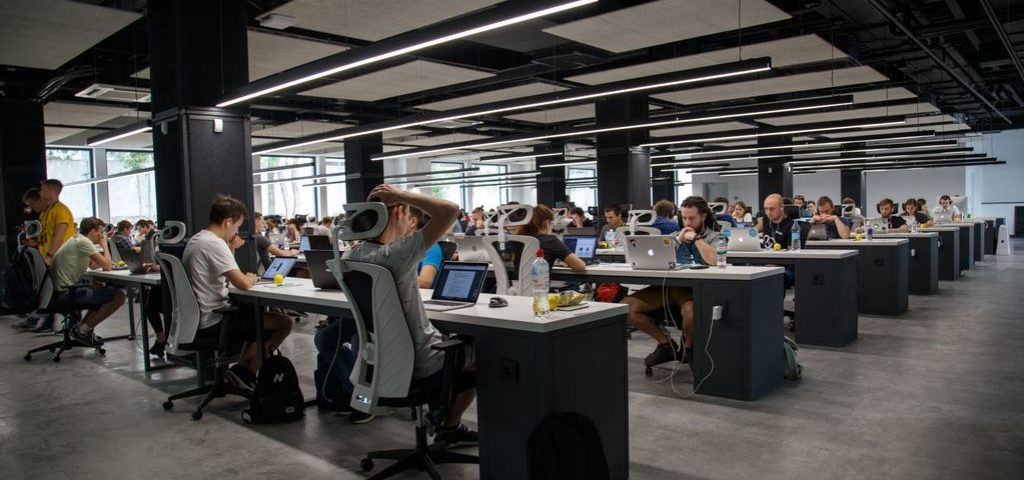 working in an office with hearing loss