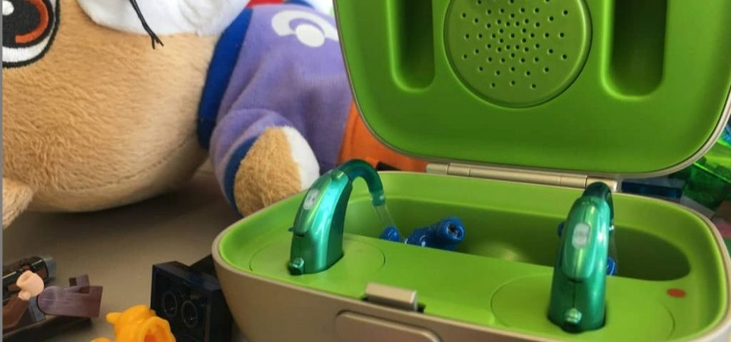 colorful hearing aids