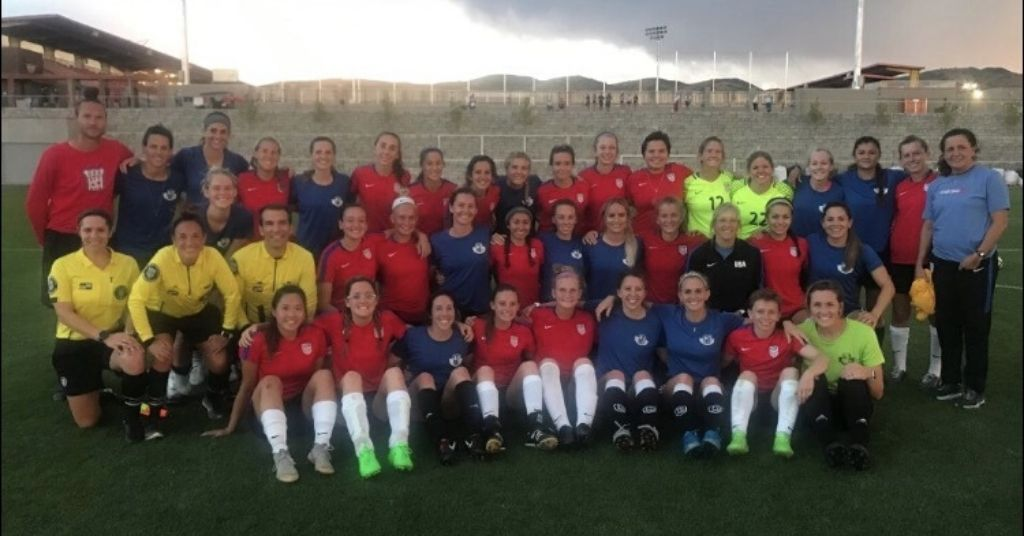 USA Women's National Deaf Soccer Team