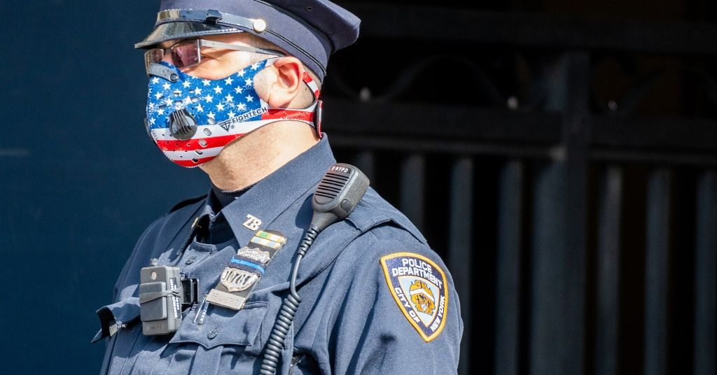 interacting with masked police officers if you're deaf