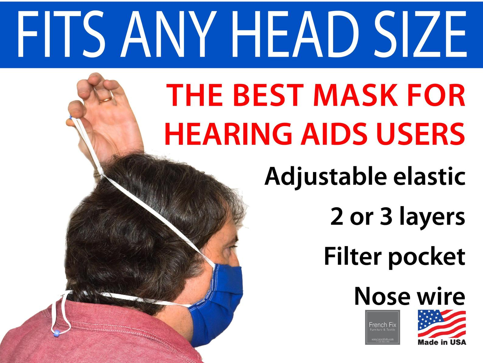 The best mask for hearing aid users