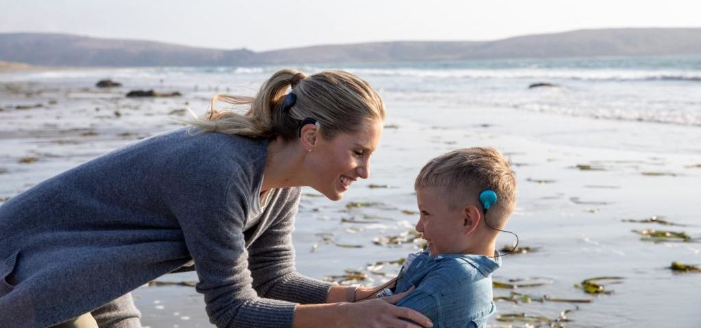 cochlear implant for children