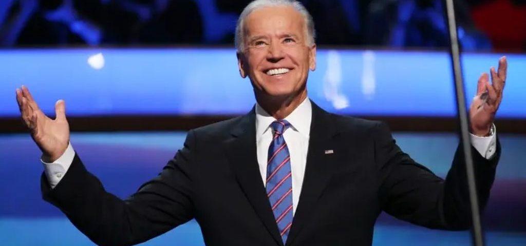 Biden's name sign