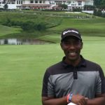 Kevin Hall deaf golfer