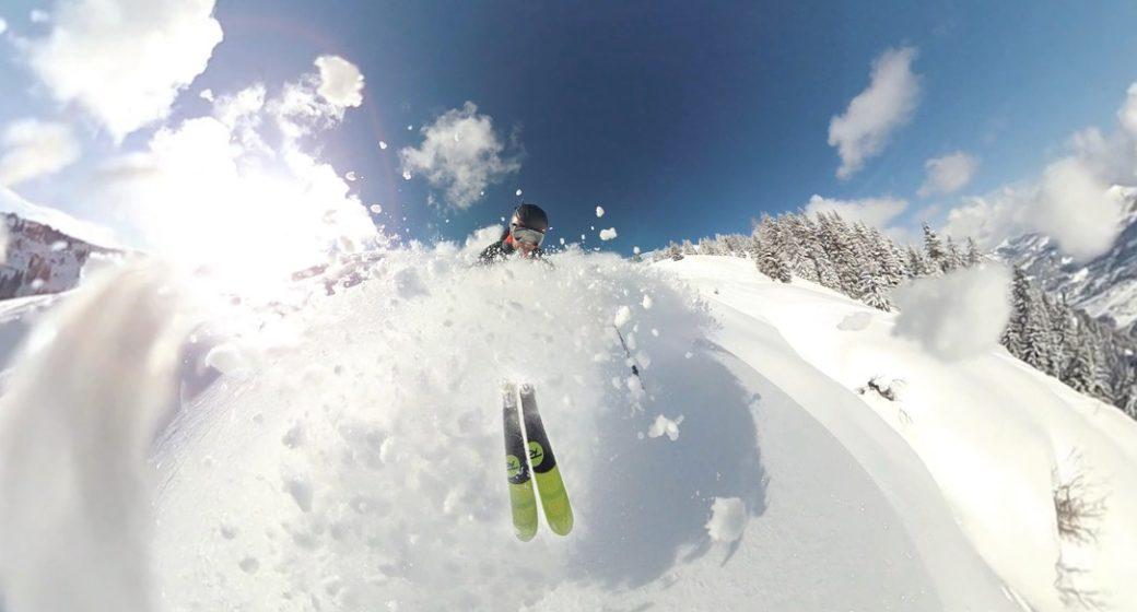deaf skiier